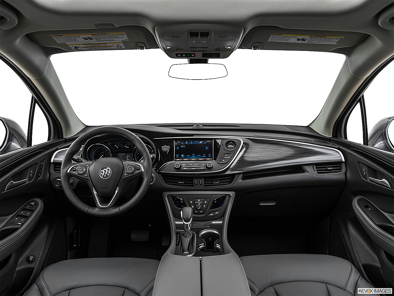 2020 Buick Envision Essence, centered wide dash shot