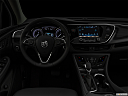 "2020 Buick Envision Essence, centered wide dash shot - ""night"" shot."