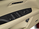 2020 Cadillac CT6 Luxury, driver's side inside window controls.