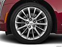 2020 Cadillac CT6 Luxury, front drivers side wheel at profile.