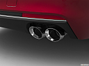 2020 Cadillac CT6 Luxury, chrome tip exhaust pipe.