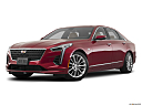2020 Cadillac CT6 Luxury, front angle medium view.