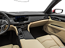 2020 Cadillac CT6 Luxury, center console/passenger side.