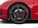 2020 Chevrolet Corvette Stingray 3LT, front drivers side wheel at profile.