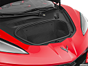 2020 Chevrolet Corvette Stingray 3LT, trunk open.