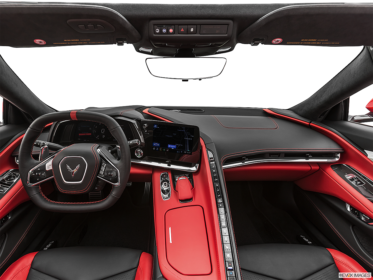 2020 Chevrolet Corvette Stingray 3LT, centered wide dash shot