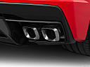 2020 Chevrolet Corvette Stingray 3LT, chrome tip exhaust pipe.