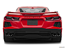 2020 Chevrolet Corvette Stingray 3LT, low/wide rear.