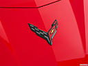 2020 Chevrolet Corvette Stingray 3LT, rear manufacture badge/emblem
