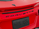 2020 Chevrolet Corvette Stingray 3LT, rear model badge/emblem