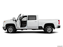 2020 Chevrolet Silverado 2500HD LT, driver's side profile with drivers side door open.