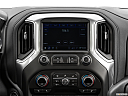 2020 Chevrolet Silverado 2500HD LT, closeup of radio head unit