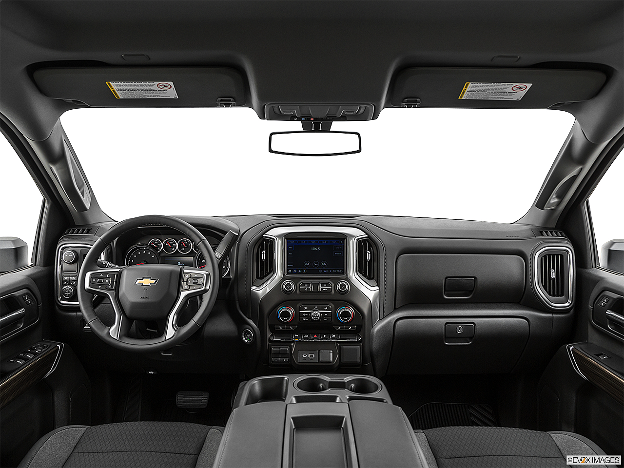 2020 Chevrolet Silverado 2500HD LT, centered wide dash shot
