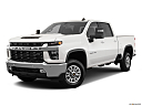 2020 Chevrolet Silverado 2500HD LT, front angle medium view.