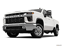 2020 Chevrolet Silverado 2500HD LT, front angle view, low wide perspective.