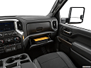 2020 Chevrolet Silverado 2500HD LT, glove box open.