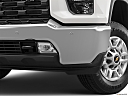 2020 Chevrolet Silverado 2500HD LT, driver's side fog lamp.