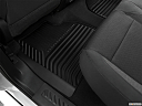 2020 Chevrolet Silverado 2500HD LT, rear driver's side floor mat. mid-seat level from outside looking in.