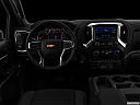 "2020 Chevrolet Silverado 2500HD LT, centered wide dash shot - ""night"" shot."