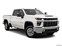 2020 Chevrolet Silverado 2500HD LT, front passenger 3/4 w/ wheels turned.