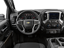 2020 Chevrolet Silverado 2500HD LT, steering wheel/center console.