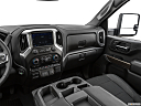 2020 Chevrolet Silverado 2500HD LT, center console/passenger side.