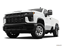 2020 Chevrolet Silverado 3500HD WT, front angle view, low wide perspective.