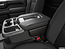 2020 Chevrolet Silverado 3500HD WT, front center console with closed lid, from driver's side looking down