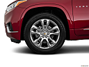 2020 Chevrolet Traverse High Country, front drivers side wheel at profile.