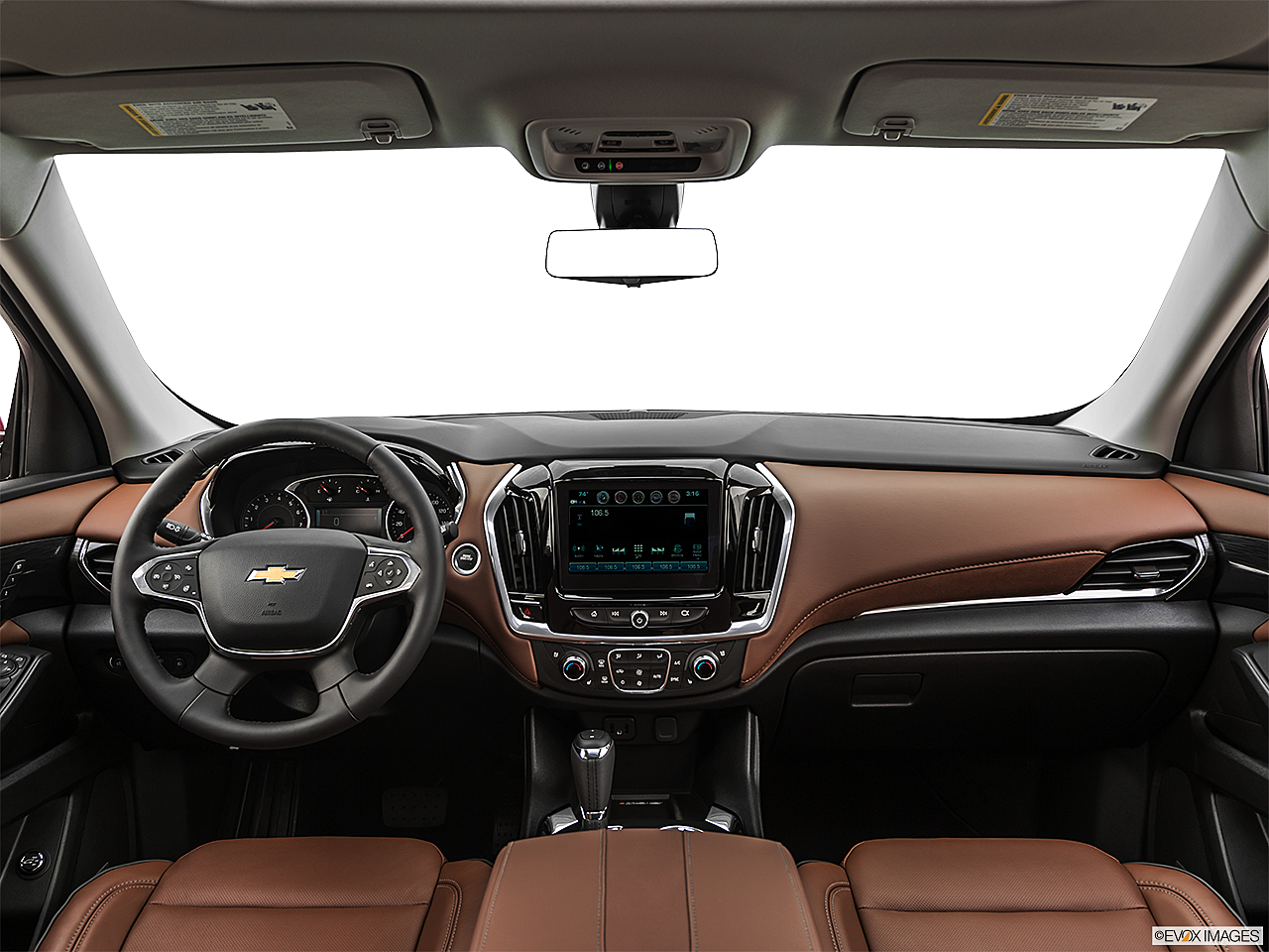 2020 Chevrolet Traverse High Country, centered wide dash shot