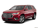 2020 Chevrolet Traverse High Country, front angle medium view.