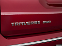 2020 Chevrolet Traverse High Country, rear model badge/emblem