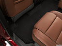2020 Chevrolet Traverse High Country, rear driver's side floor mat. mid-seat level from outside looking in.
