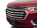 2020 Chevrolet Traverse High Country, close up of grill.