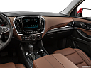 2020 Chevrolet Traverse High Country, center console/passenger side.