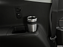 2020 Chevrolet Traverse RS, third row side cup holder with coffee prop.