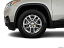 2020 Chevrolet Traverse LS, front drivers side wheel at profile.