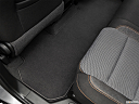 2020 Chevrolet Traverse LS, rear driver's side floor mat. mid-seat level from outside looking in.