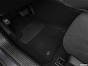 2020 Dodge Challenger R/T, driver's floor mat and pedals. mid-seat level from outside looking in.