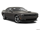 2020 Dodge Challenger R/T, front passenger 3/4 w/ wheels turned.