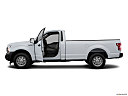 2020 Ford F-150 XL, driver's side profile with drivers side door open.