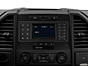 2020 Ford F-150 XL, closeup of radio head unit