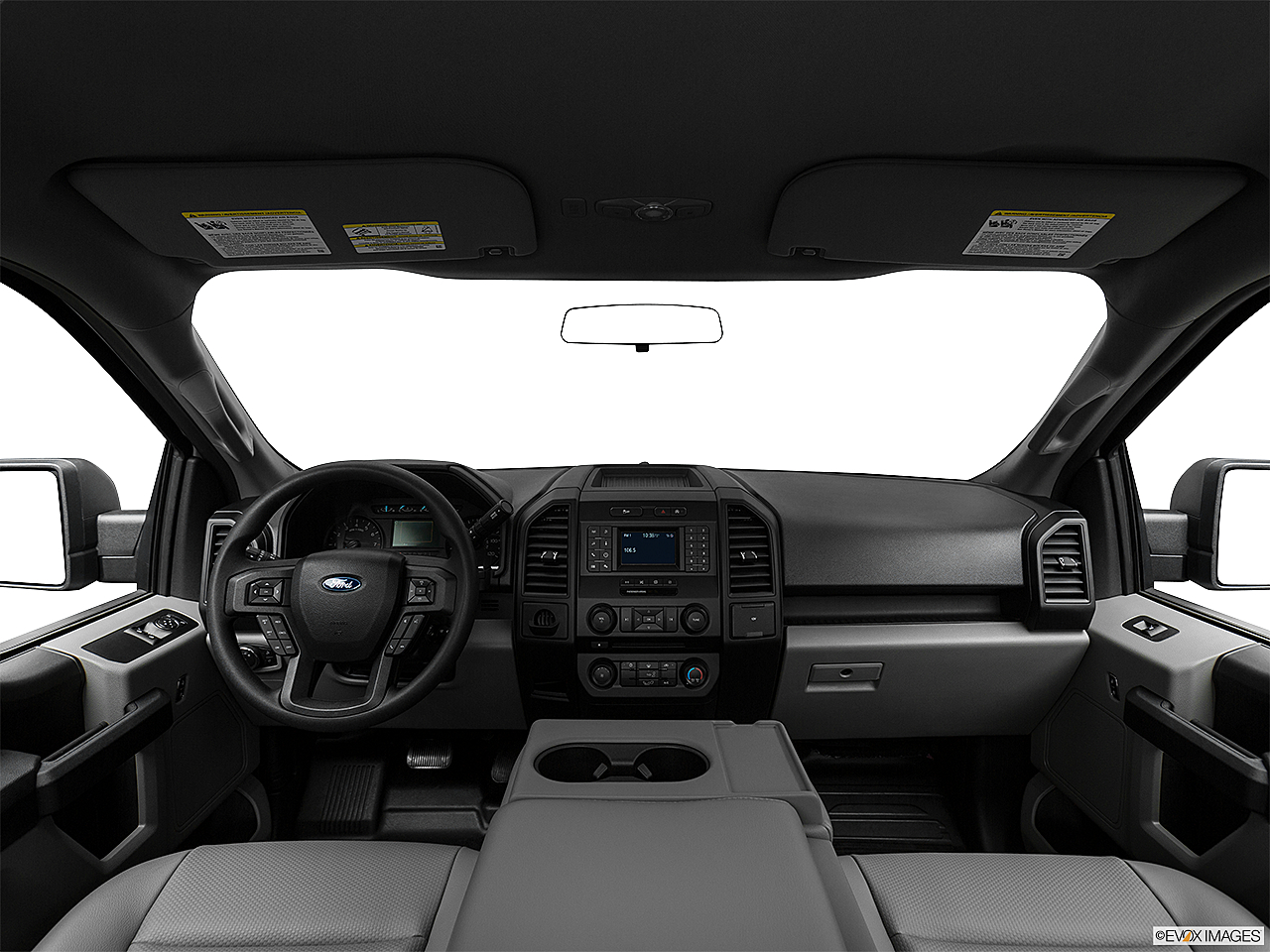 2020 Ford F-150 XL, centered wide dash shot