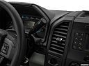 2020 Ford F-150 XL, gear shifter/center console.
