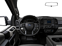 2020 Ford F-150 XL, steering wheel/center console.