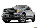 2020 Ford F-150 XLT, front angle view, low wide perspective.