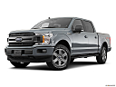 2020 Ford F-150 XLT, front angle medium view.
