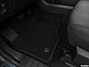 2020 Ford F-150 XLT, driver's floor mat and pedals. mid-seat level from outside looking in.