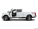 2020 Ford F-250 SD Lariat, driver's side profile with drivers side door open.