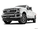 2020 Ford F-250 SD Lariat, front angle view, low wide perspective.